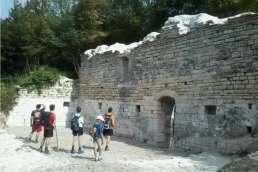 Santa Maria di Grottafucile - ruderi dell'eremo